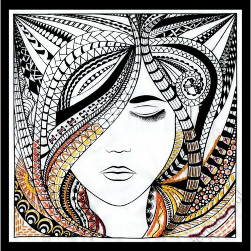 Zenbroidery - Asszony