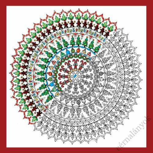 Zenbroidery - Karácsonyi mandala