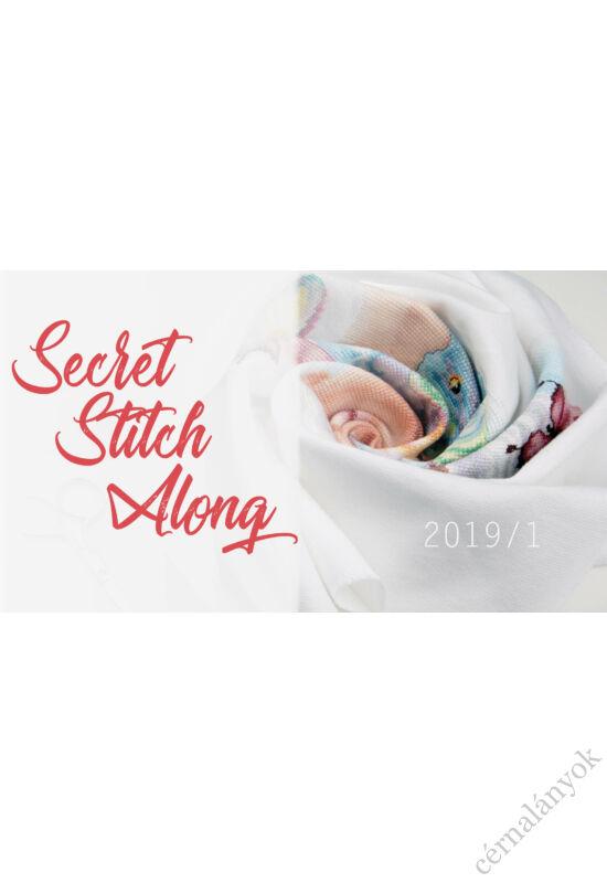 Secret SAL 2019/1  - keresztszemes készlet