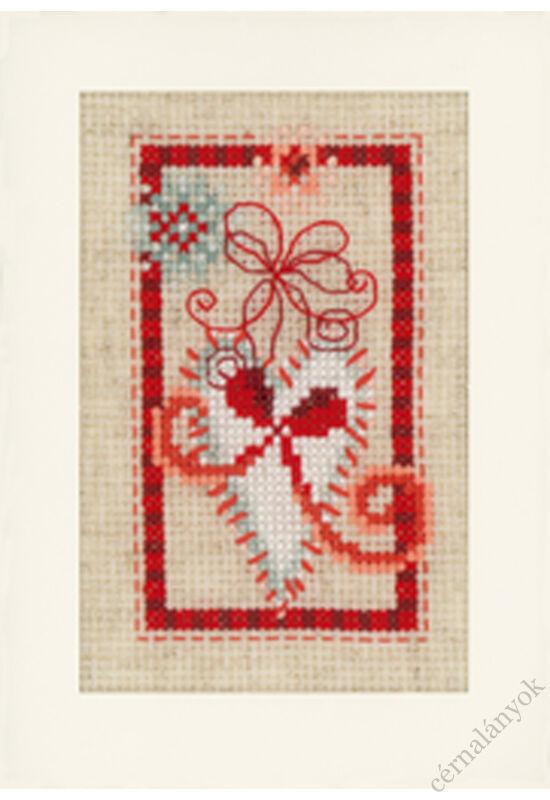 Hímezhető karácsonyi képeslap 2.