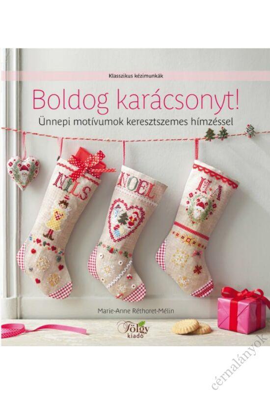 Boldog karácsonyt! - keresztszemes könyv