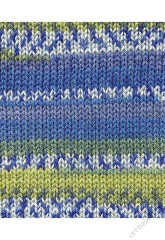 Bravo Color Jacquard - Aqua