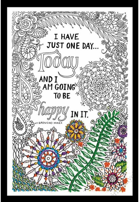 Zenbroidery - Be Happy