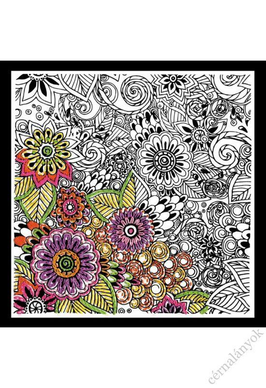 Zenbroidery - Virágos